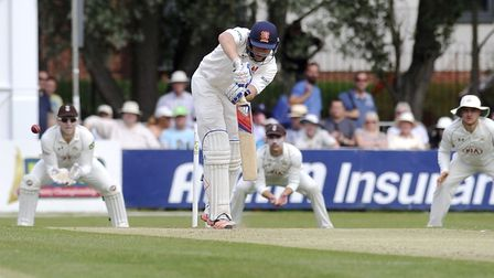Nick Browne top scored for Essex with 44. Picture: ARCHANT