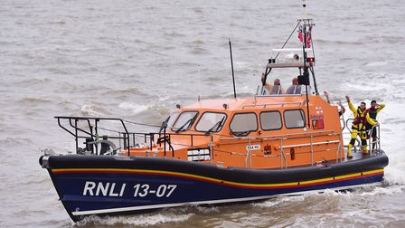 RNLI Great Yarmouth and Gorleston lifeboat.Picture: NICK BUTCHER