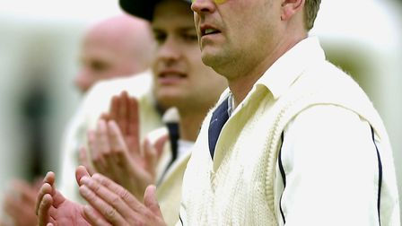 Phil Caley led Suffolk to a famous triumph. Picture: ANDY ABBOTT