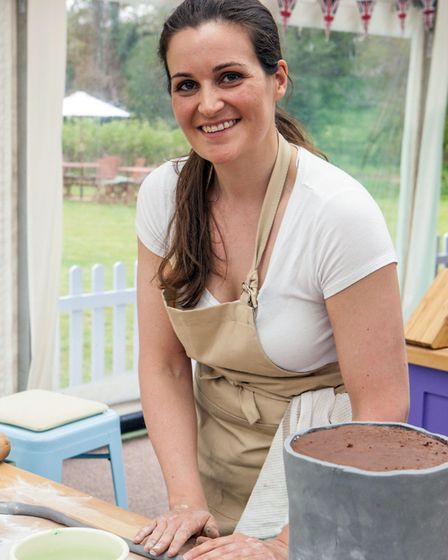 Sophie, who grew up in Suffolk, is taking part in The Great British Bake Off this year. Photo: Mark