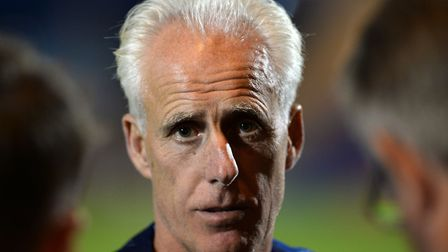 Ipswich Town boss Mick McCarthy is due to speak to the press at 1pm today. Photo: PAGEPIX
