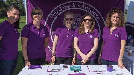 The Hybrid Breeders Association (HBA) travelled to London to take part in Pupaid. Picture: NIGEL SHO