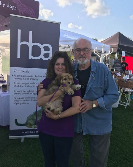 The Hybrid Breeders Association (HBA) travelled to London to take part in Pupaid. Jules Hamilton wit