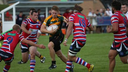 Mark Kohler, in action for Bury St Edmunds during last weekend's defeat to Tonbridge Juddians, will
