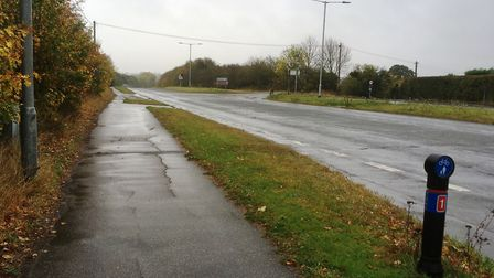 The draft local plan foresees homes being built on both sides of the old A12 at Copdock. Picture: PA