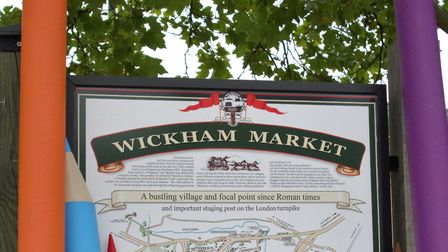 Wickham Market will be hosting a Big Draw event on October 21. Picture: WICKHAM MARKET ARTS PROJECT