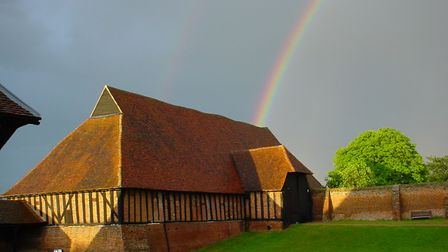 The Wheat Barn at Cressing Temple, near Braintree. Picture: PETER SMITH