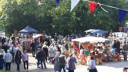 Snape Maltings vintage fair. Picture: CONTRIBUTED