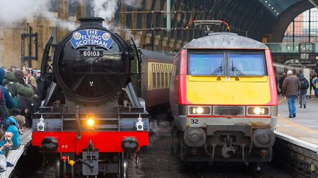 The Flying Scotsman's visit to Ipswich has been delayed by three weeks: Picture: Dominic Lipinski/PA