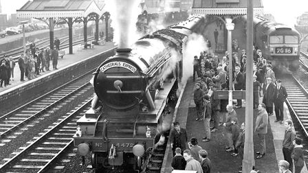 A visit to Ipswich by the Flying Scotsman, September 23,1967. Photo by Colin Macer/Archant.
