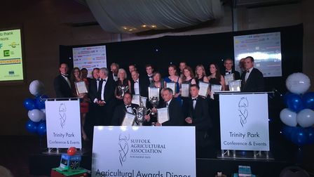 Suffolk Agricultural Association 2017 agricultural award winners. Picture: SARAH CHAMBERS
