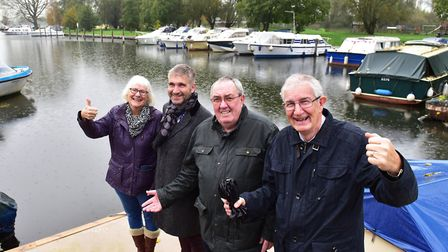 Beccles Town Council is set to take over the quay from Waveney District Council. Pictured is town co