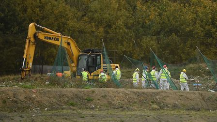 Police have started to search a new area of a landfill site in Milton, Cambridgeshire, for missing R