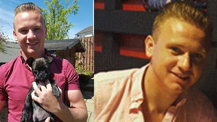 The search for Corrie McKeague has resumed. Pictures: Contributed