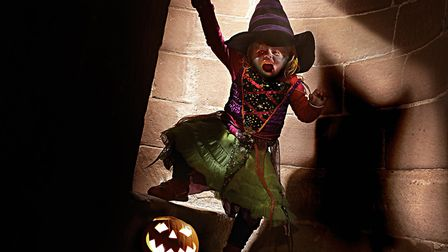 Head to Framlingham castle to get into the Halloween spirit. Picture: CONTRIBUTED