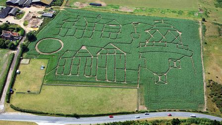 Test your navigation skills in Southwold's Trick or Treat Maze. Picture: MIKE PAGE