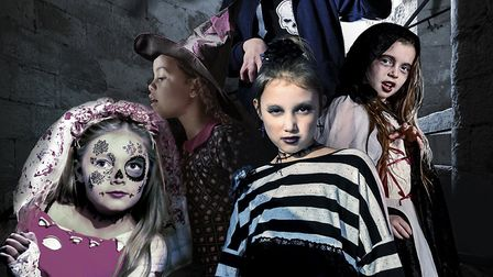 Spooky Stories at Framlingham Castle is fun for all the family. Picture: CONTRIBUTED
