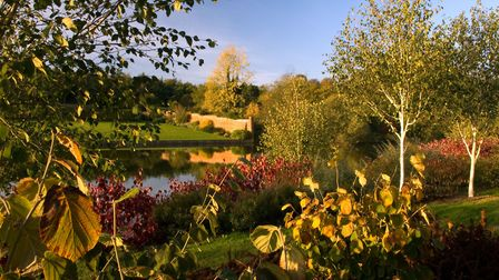 The Marks Hall garden in autumn. Picture: JERRY HARPUR