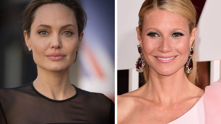 Angelina Jolie (left) and Gwyneth Paltrow who are the latest actresses to accuse film producer Harv