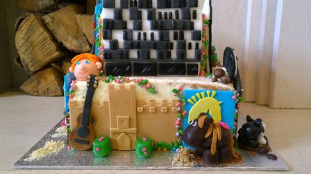 Lavinia Heeroma baked the best cake in our Suffolk Bake Off competition. Pictures: Contributed