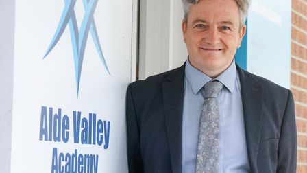 Michael Wilson, Principal at Alde Valley Academy. Picture: ARCHANT