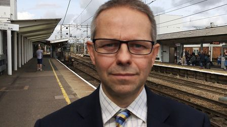 Richard Dean of Greater Anglia. Picture: GREATER ANGLIA