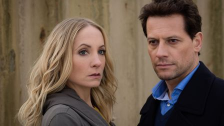 Characters Laura and Andrew from Liar. Picture: JOSS BARRATT/ITV