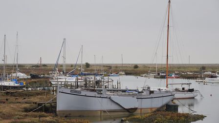 Tollesbury Natural Marina. Picture: SARAH LUCY BROWN