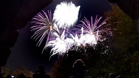 The Bury St Edmunds Round Table firework display at Abbey Gardens in 2016. Picture: ANDY ABBOTT