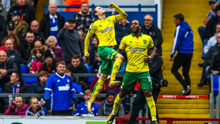 James Maddison jumps for joy after scoring to give Norwich a 1-0 lead. But where was the passion fr