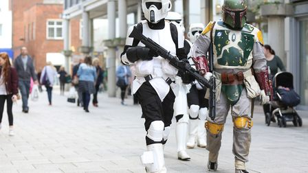 Sci-Fi Festival at Moyes Hall Museum in Bury St Edmuds.Picture: RICHARD MARSHAM