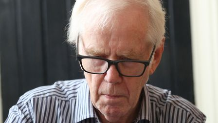 Sci-Fi Festival at Moyes Hall Museum in Bury St Edmuds - Star Wars actor, Jeremy Bulloch signs autog
