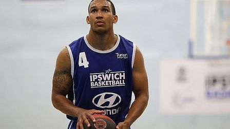Quan Gill scored eight for Ipswich in a heavy defeat at Nottingham. Picture: NICK WINTER