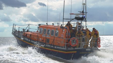 The Aldeburgh RNLI's all-weather lifeboat, Freddie Cooper (stock image). Picture: SARAH LUCY BROWN