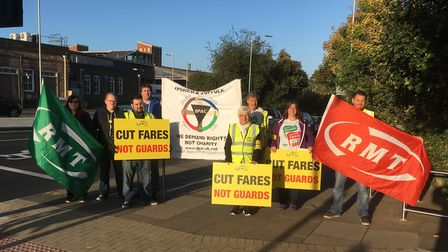 Greater Anglia guards will be on strike again next week. Picture: PAUL GEATER