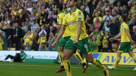 Nelson Oliveira thinks Norwich are a 'better club' than Ipswich Town. Picture: FOCUS IMAGES