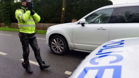 Kevin Gill, 48, of Berefield Way, Colchester, was clocked speeding twice in two months in Mersea Roa