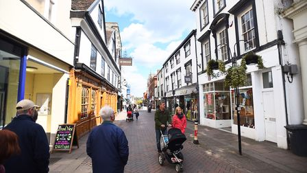Abbeygate Street, Bury St Edmunds. Picture: GREGG BROWN
