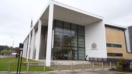 Reeves, 27, of Keyes Way, Braintree, appeared before Ipswich Crown Court today. Picture: GREGG BROWN
