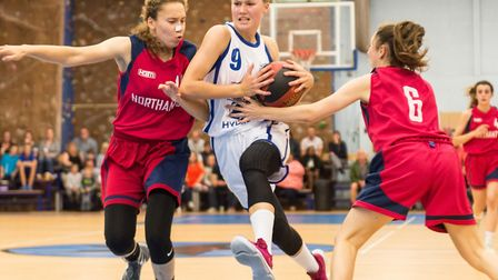 Esther Little led Ipswich with 32 points against Northamptonshire. Picture: PAVEL KRICKA