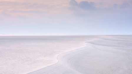 The overall winner of the Landscape Photographer of the Year Awards, Diminutive Dune, Sand forms at