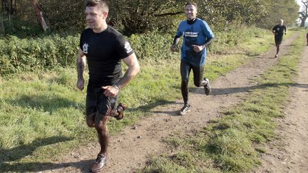 Runners taking on The Suffolk Whole Hog. Picture: NIGE BROWN