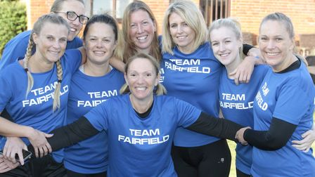 Team Fairfield at The Suffolk Whole Hog. Picture: NIGE BROWN