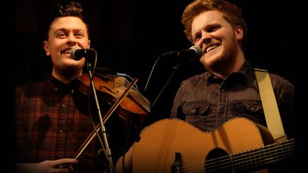 Greg Russell and Ciaran Algar will be playing the Folk on the farm event