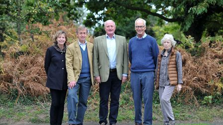 The Save Our Suffolk Estuary Committe. Left to right: Clare and Edward Greenwell, Ian Collett, Ian D