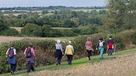 Clare has been awarded Walkers are Welcome status. Picture: Clare Castle Country Park