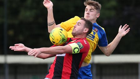 Luke Callander, who scored two and set up another in Heybridge Swifts' 4-2 win at Haringey Borough i