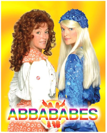 The Abbababes will be on stage at Felixstowe st this year's fireworks display