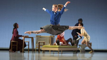 Hannah Rudd takes centre stage in Aletta Collins's The Days Run Away Like Wild Horses. Photo: Ellie