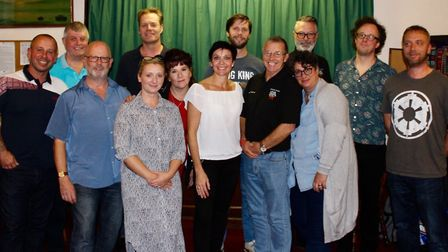 The Bures Music Festival committee. Picture: CONTRIBUTED